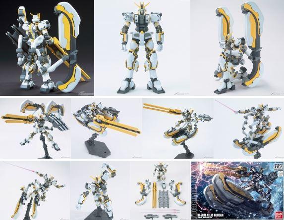 HG 1/144 ATLAS GUNDAM (GUNDAM THUNDERBOLT Ver.)