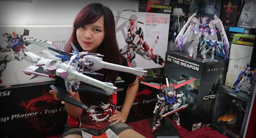 Gundam yang cocok untuk cewe