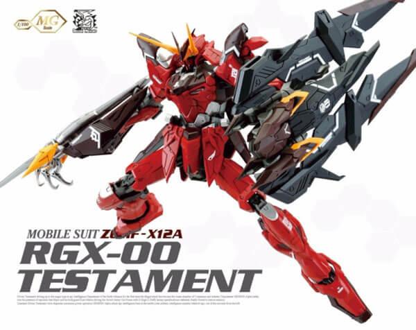 Gundam Testamen dragon momoko